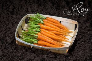 Mini carottes en barquette