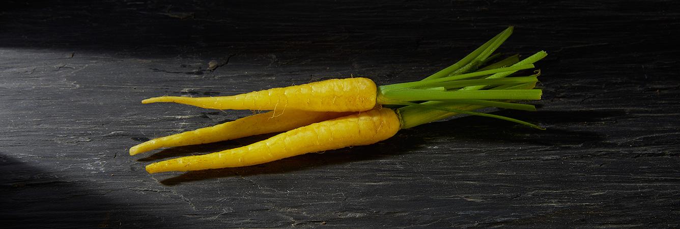Carottes jaunes - Eric ROY maraîcher