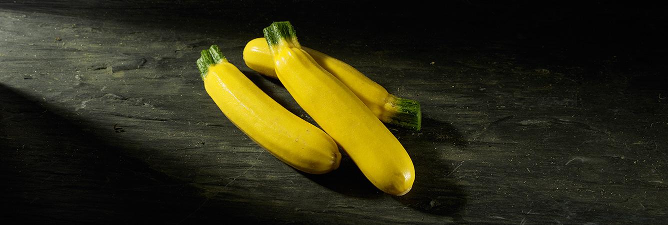 Courgettes jaunes – Eric ROY maraîcher