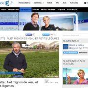 Eric Roy maraicher dans météo à la carte sur France 3, le 26 octobre 2016